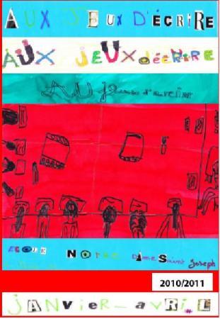 """""""Aux jeux d'écrire"""", St Nazaire, 2010-2011, A.Educative"""
