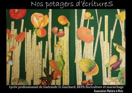 """Nos potagers d'écritures"", Guérande, 2009-2010, Educatif"